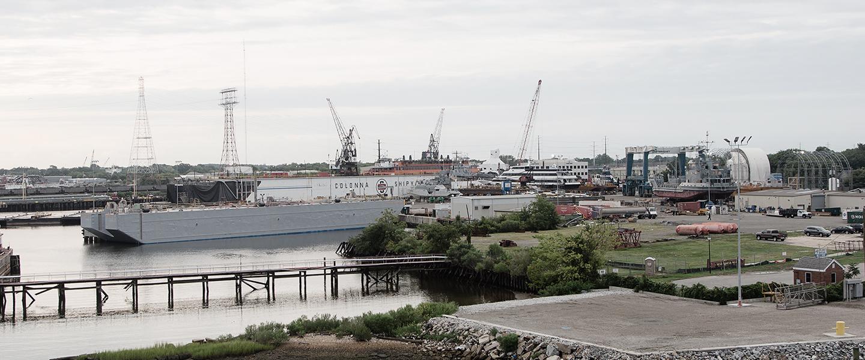 colonna's subcontractors shipyard access
