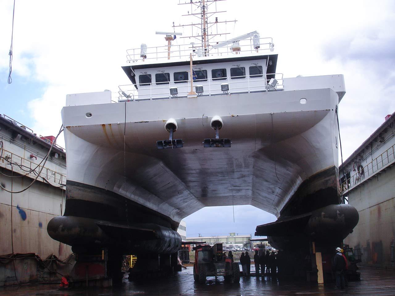 NOAA Boat Hassler